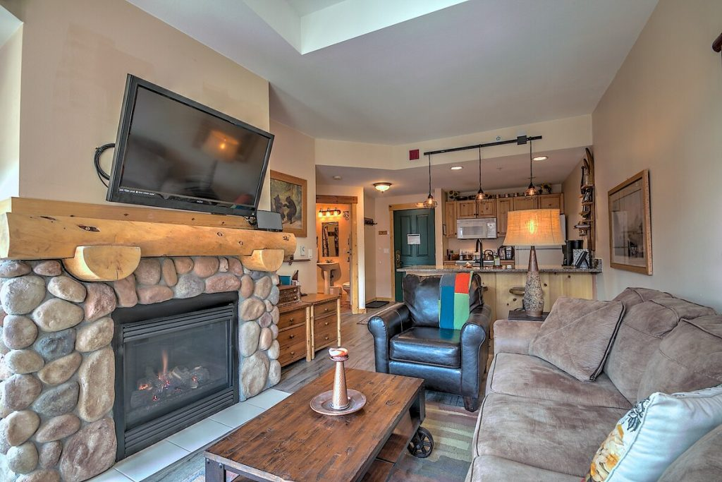 best airbnbs copper mountain The 'Copper Cabin' with a Half Pipe View living room