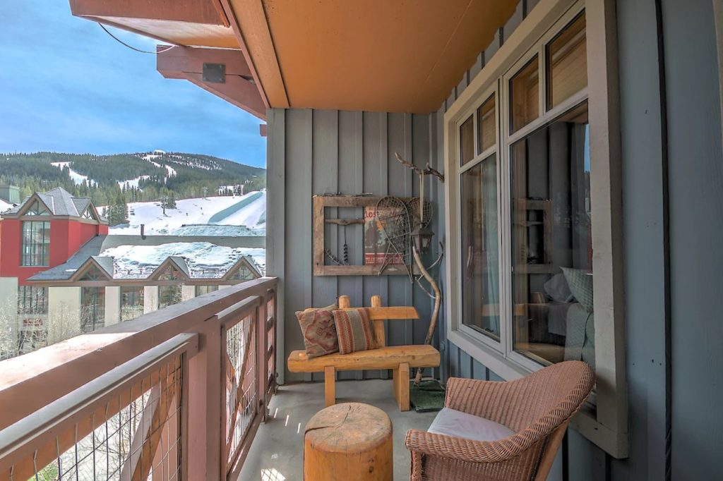 best airbnbs copper mountain half pipe view