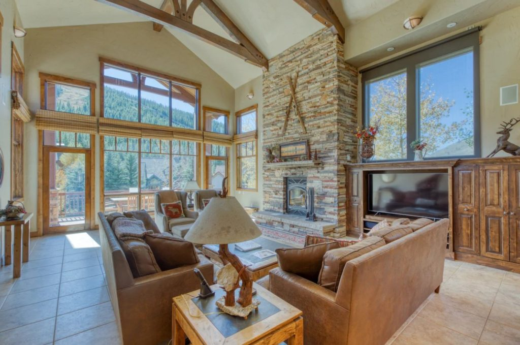 best airbnbs copper mountain house private hot tub