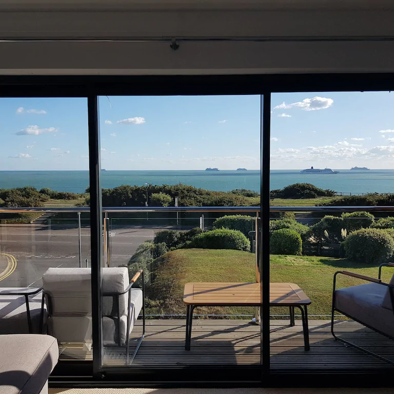best airbnbs in Bournemouth panoramic sea views
