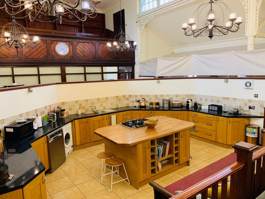 best airbnbs in bournemouth chapel kitchen