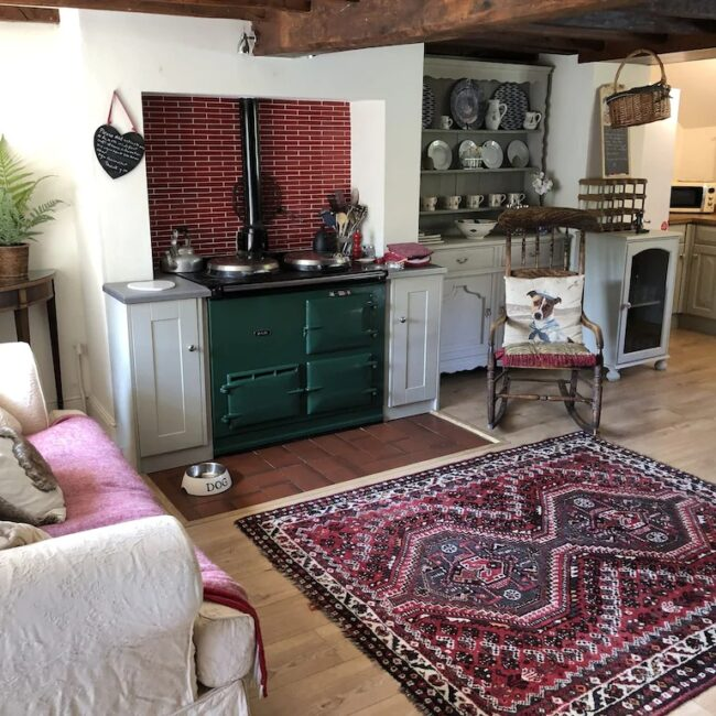 best airbnbs isle of wight chocolate box kitchen