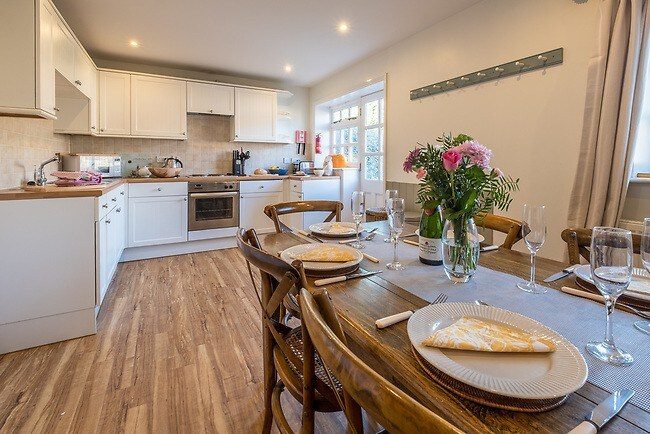 best airbnbs isle of wight luxury cottage kitchen