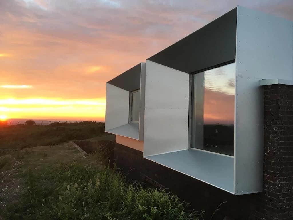 best airbnbs isle of wight radar station