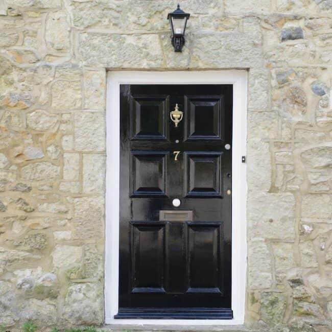 best airbnbs isle of wight victorian cottage door