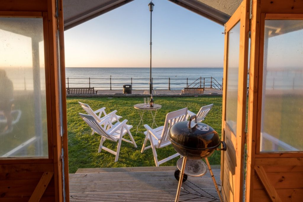 best airbnbs isle of wight waters edge view