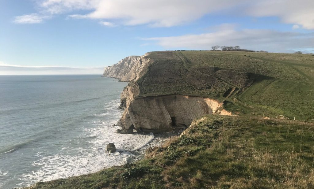 best airbnsb isle of wight gettaway walks