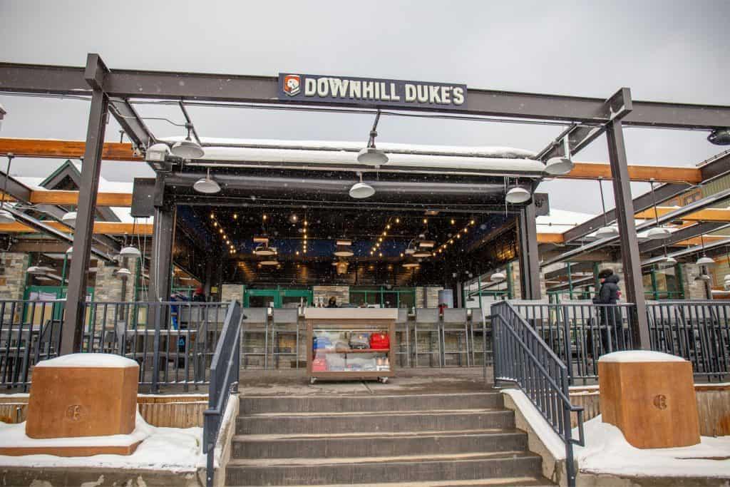 best restaurants copper mountain Downhill Dukes
