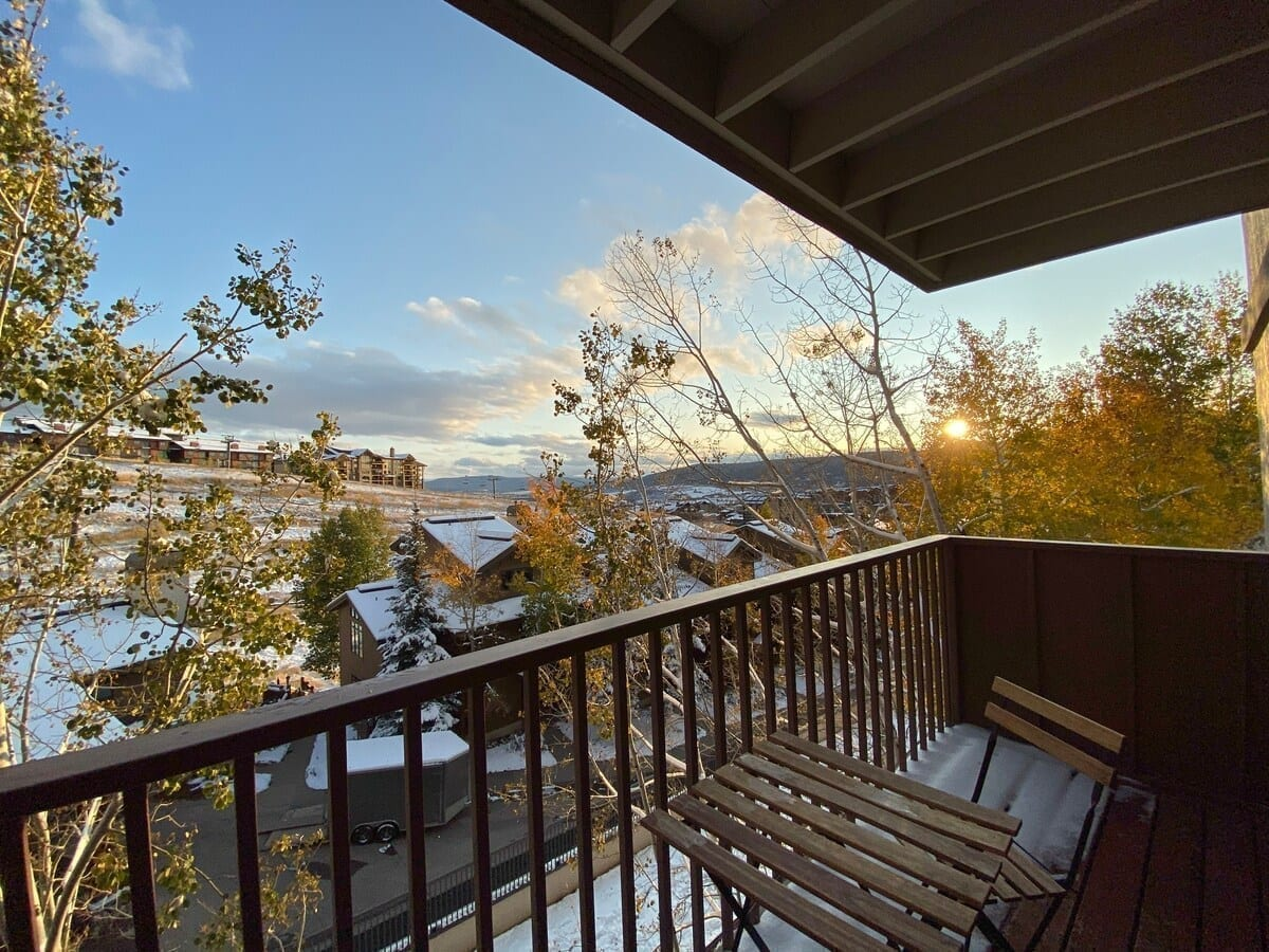 Best airbnbs in Steamboat Ski In Ski Out condo with hot tub Steamboat view