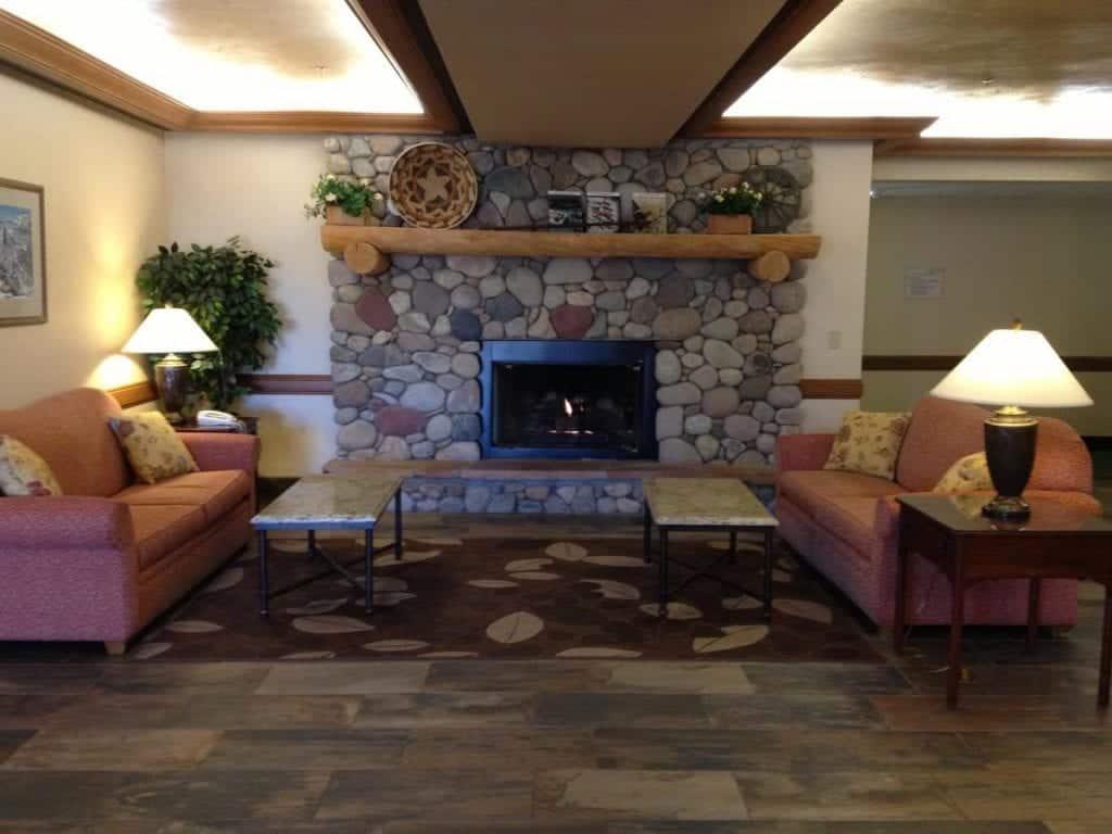 Best hotels in Steamboat Springs Fairfield Inn and Suites by Marriott lobby