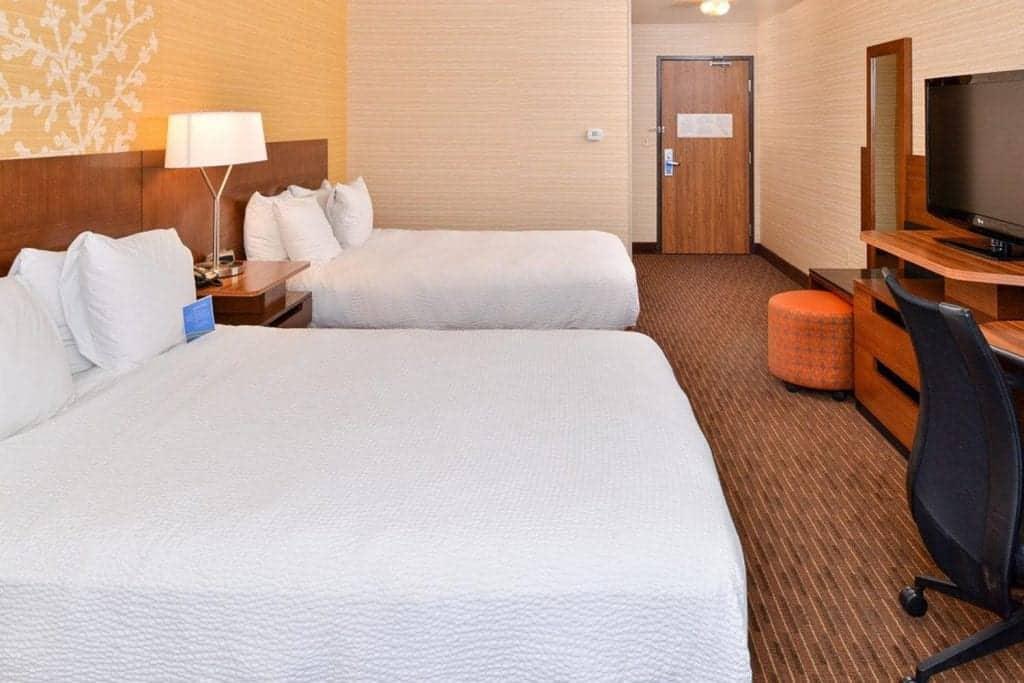 Best hotels in Steamboat Springs Fairfield Inn and Suites by Marriott room
