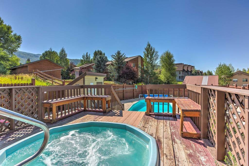 best airbnbs copper mountain condo with shared pool and hot tub