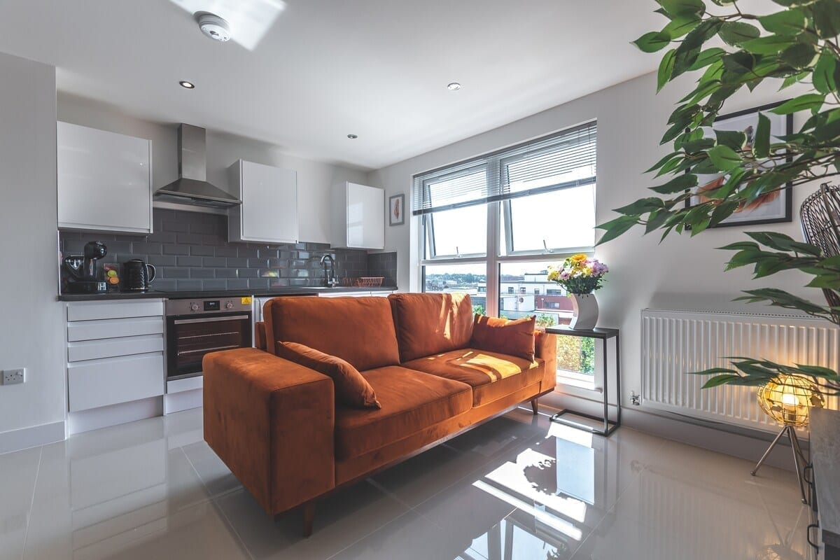 best airbnbs southampton smart apartments living room