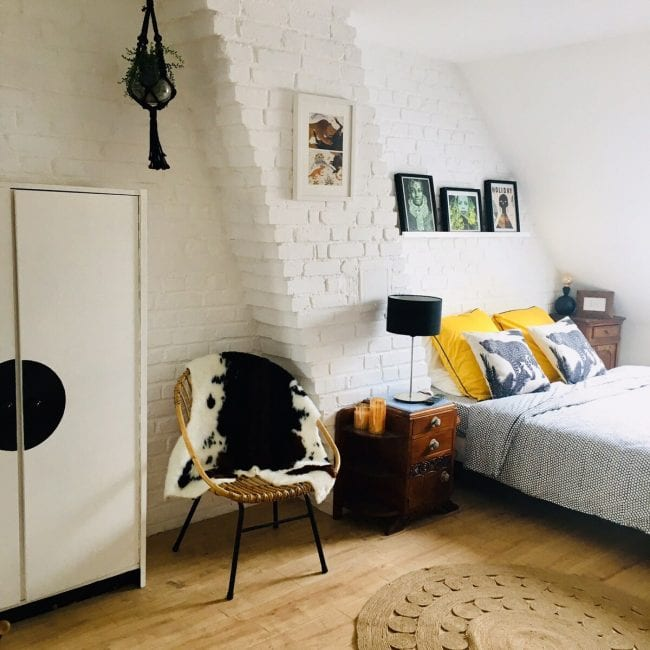 2 bedroom Airbnb in the centre of Amiens bedroom