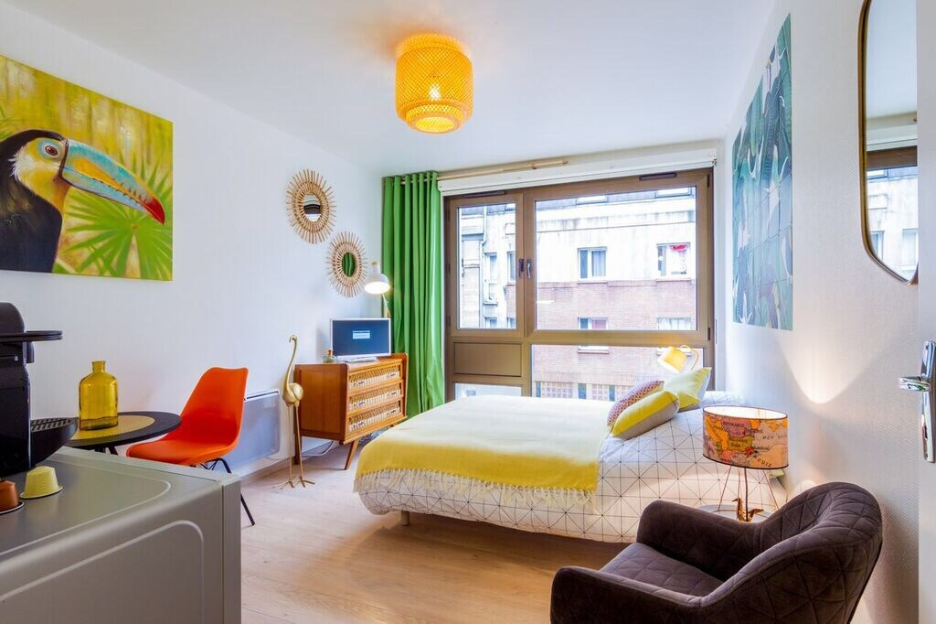 Best airbnbs in Amiens studio in centre of amiens jacobin