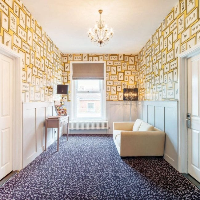 Best hotels portsmouth Somerset House Boutique Hotel and Restaurant hallway