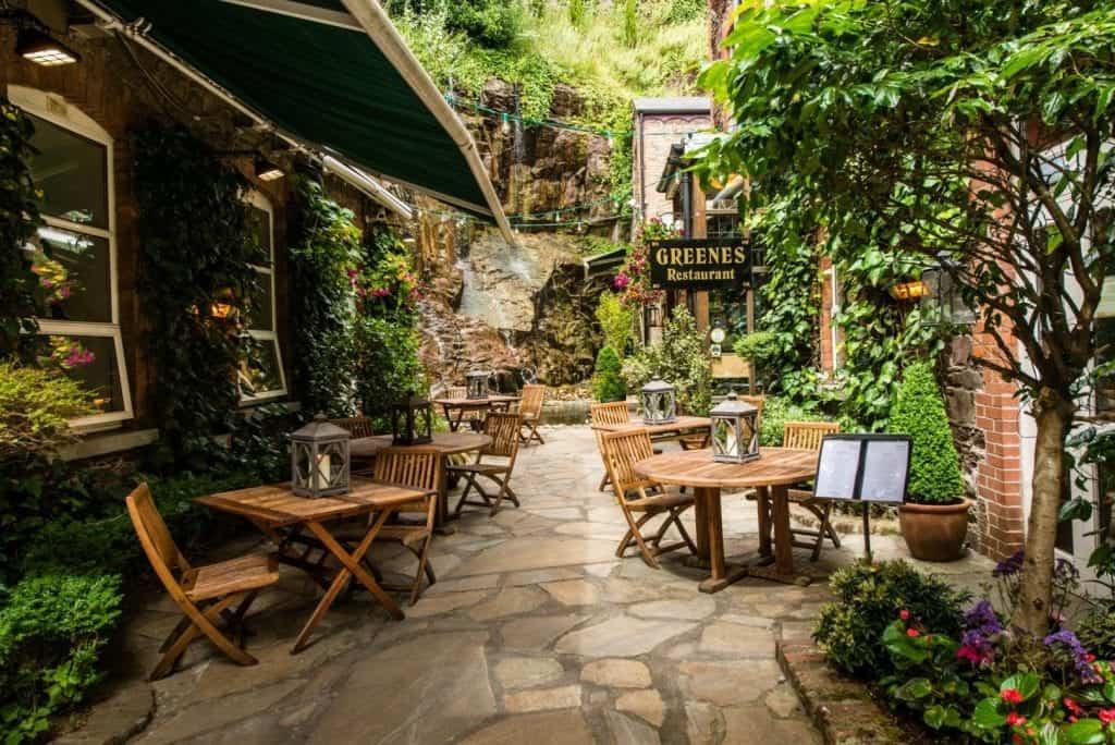 Best restaurants in Cork Greenes restaurant