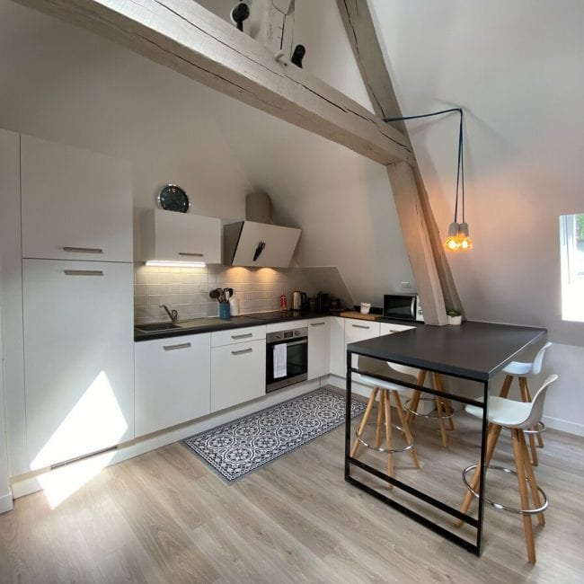 best airbnbs in amiens Beautiful Airbnb near the cathedral kitchen