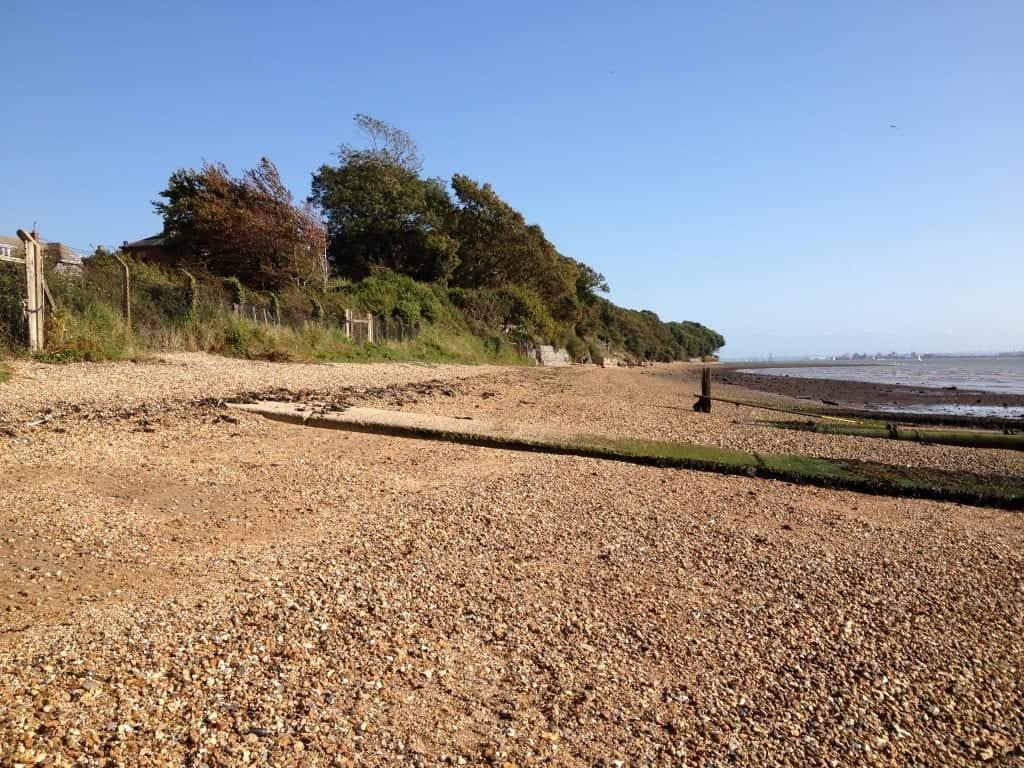 best beaches southampton Netley Abbey Beach Southampton