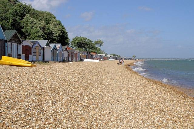 best beaches southampton calshot beach