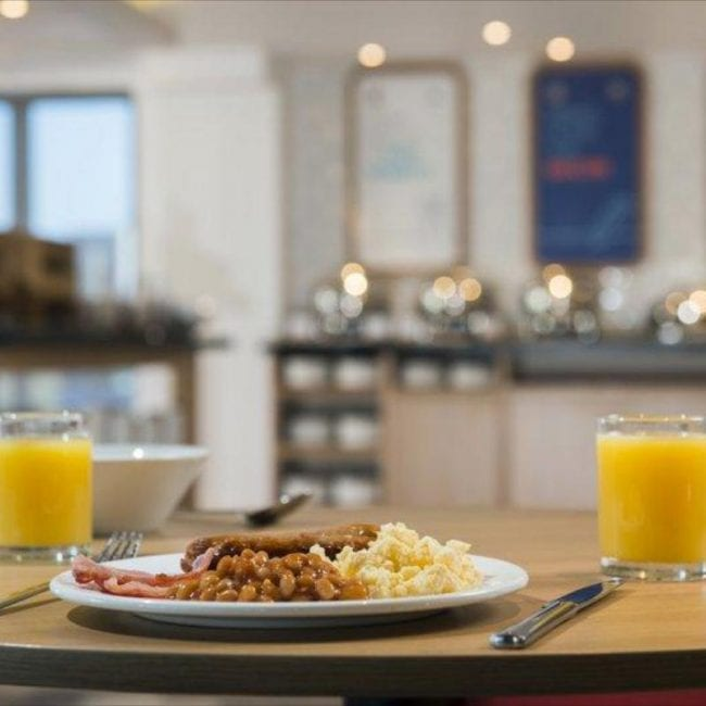 best hotels portsmouth holiday inn express north food