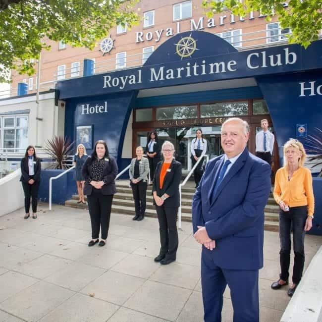 best hotels portsmouth royal maritime outside
