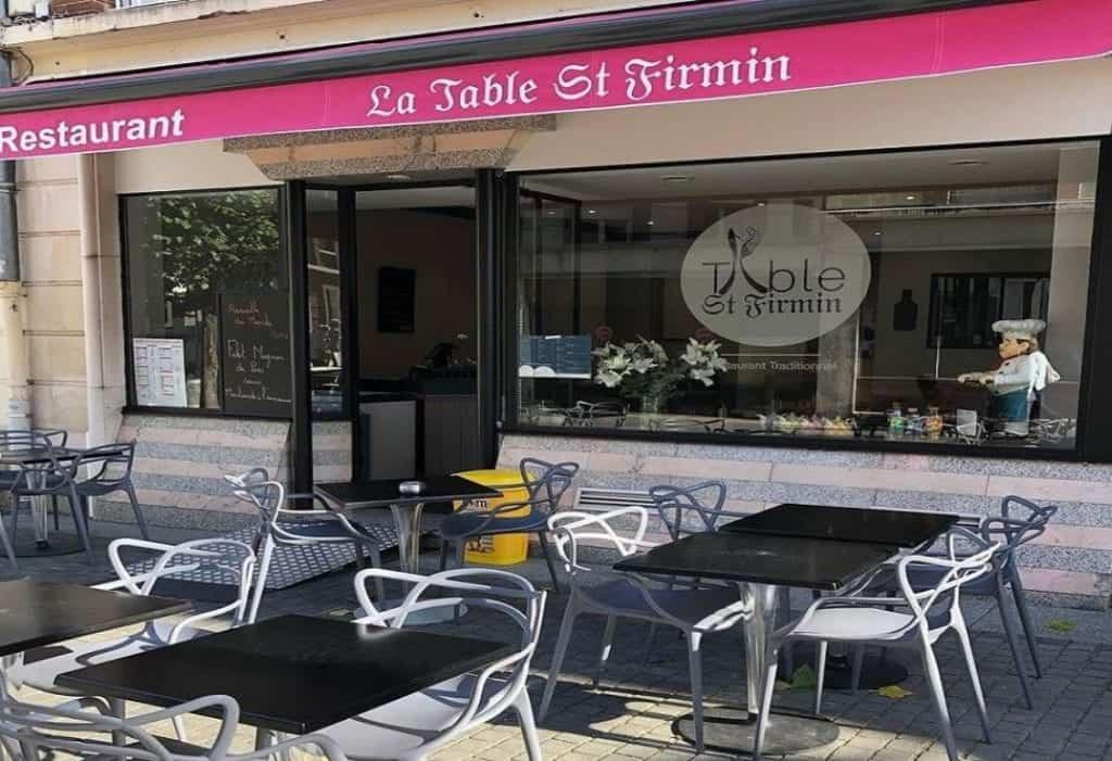 best restaurants amiens le table saint firmin