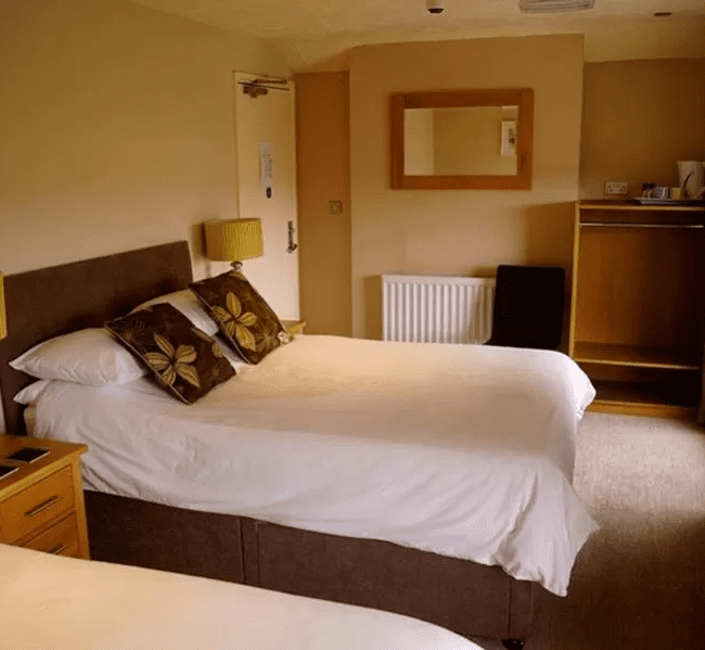best restaurants bognor regis The Arun View Inn bedroom