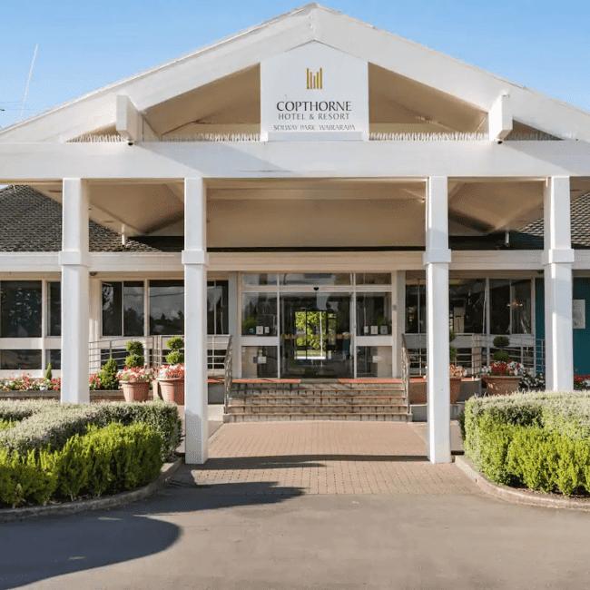 best caravan parks bognor regis Copthorne Caravans reception