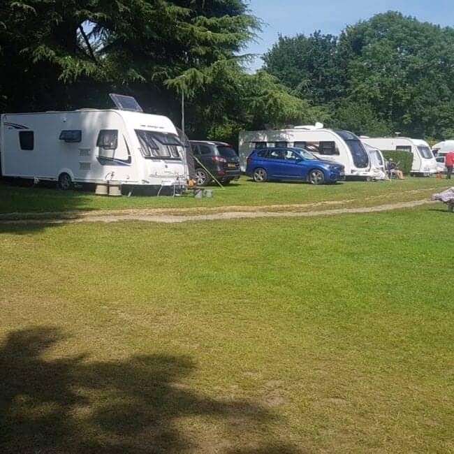 best caravan parks bognor regis rowan park caravan club site grass