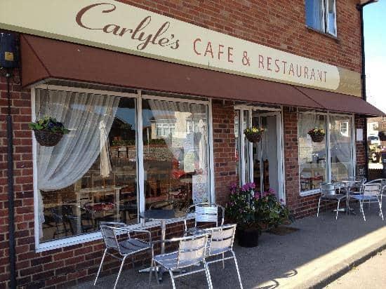 best restaurants bognor regis Carlyle's Cafe