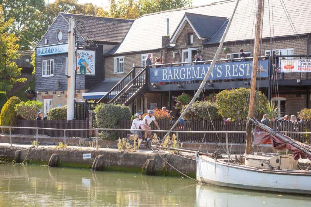 best restaurants newport isle of wight The Bargeman's Rest