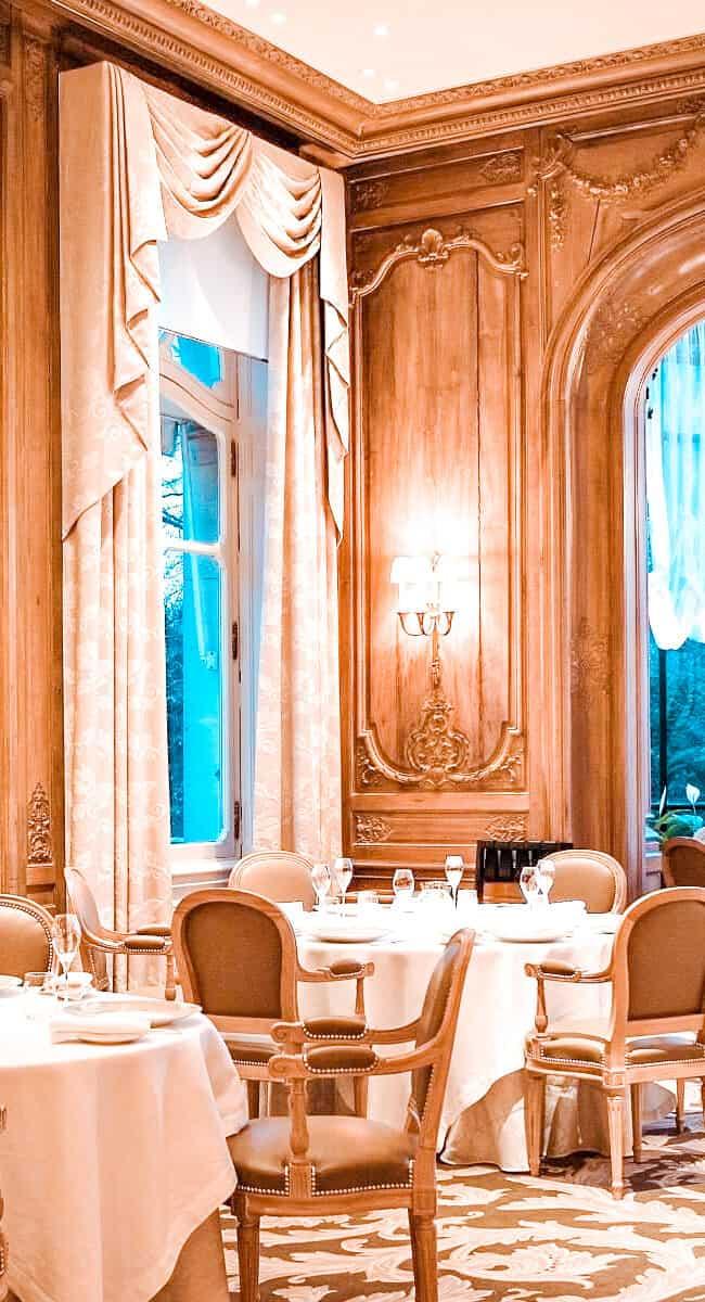 beste restaurants in Reims Le Parc Restaurant Les Crayeres