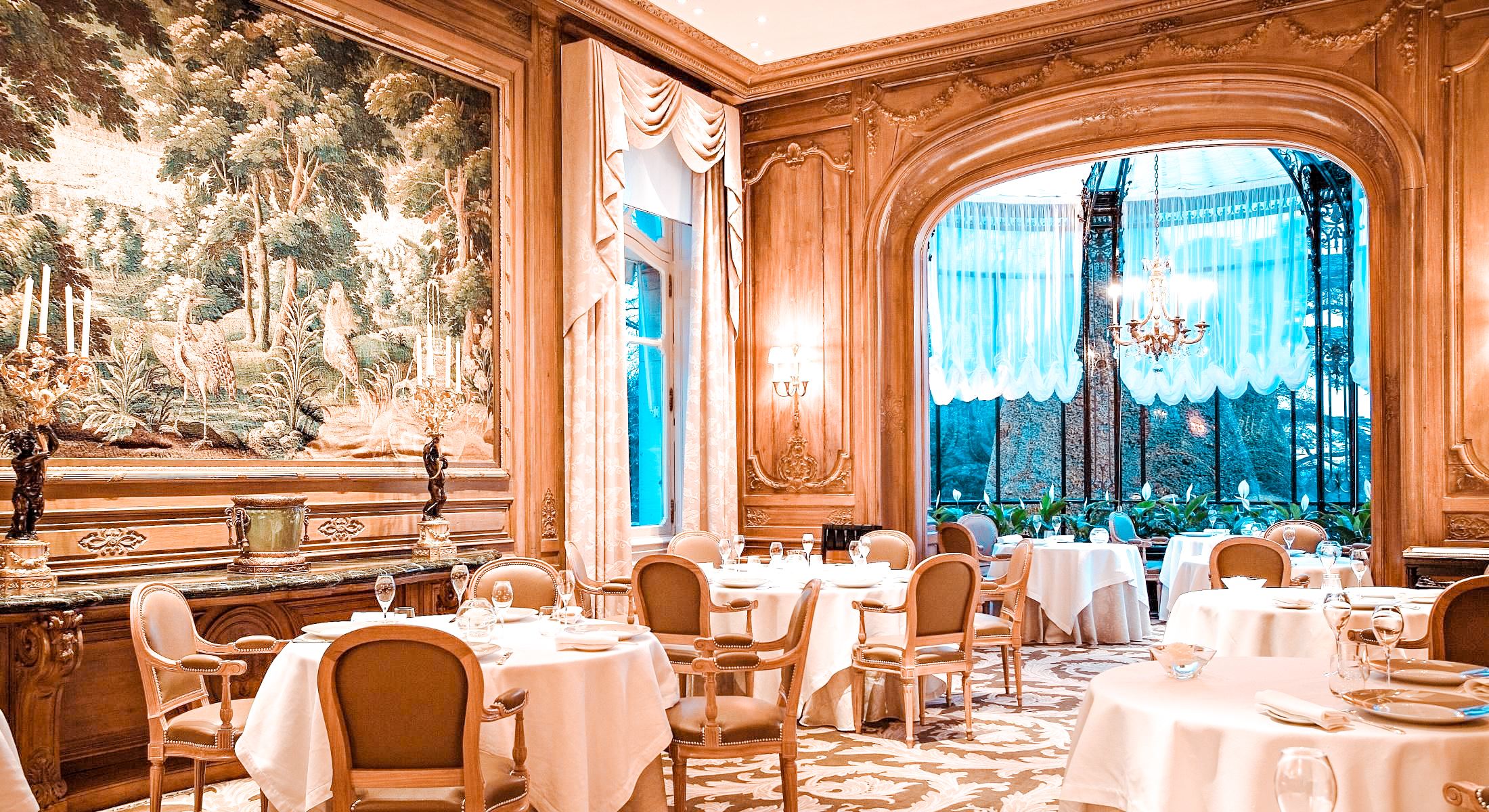 best restaurants in Reims Le Parc Restaurant Les Crayeres