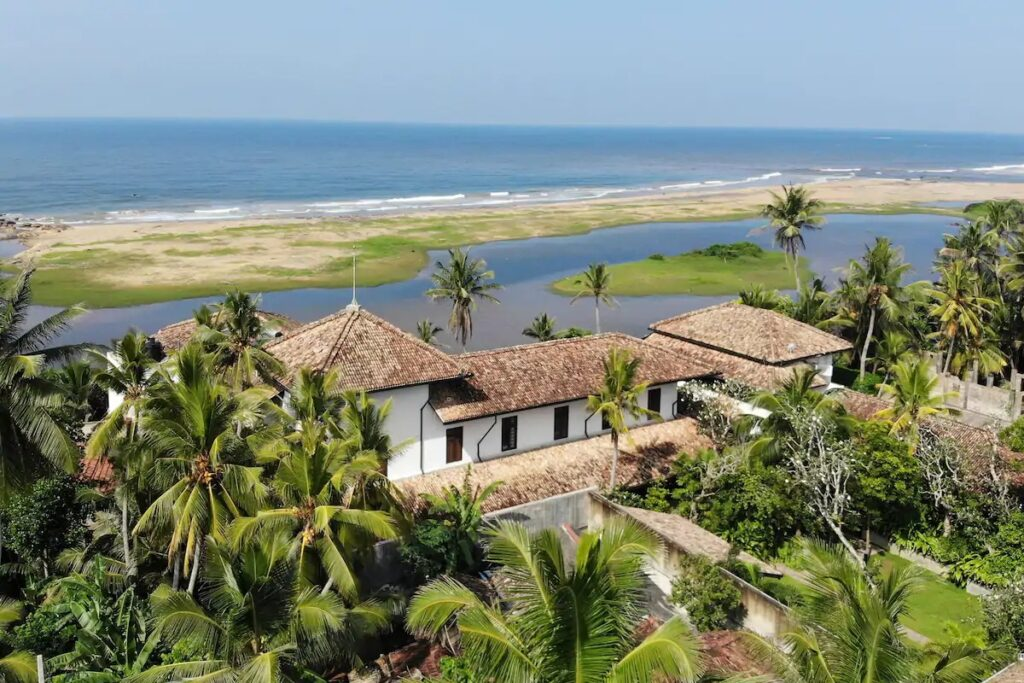 beach hotel galle the post card
