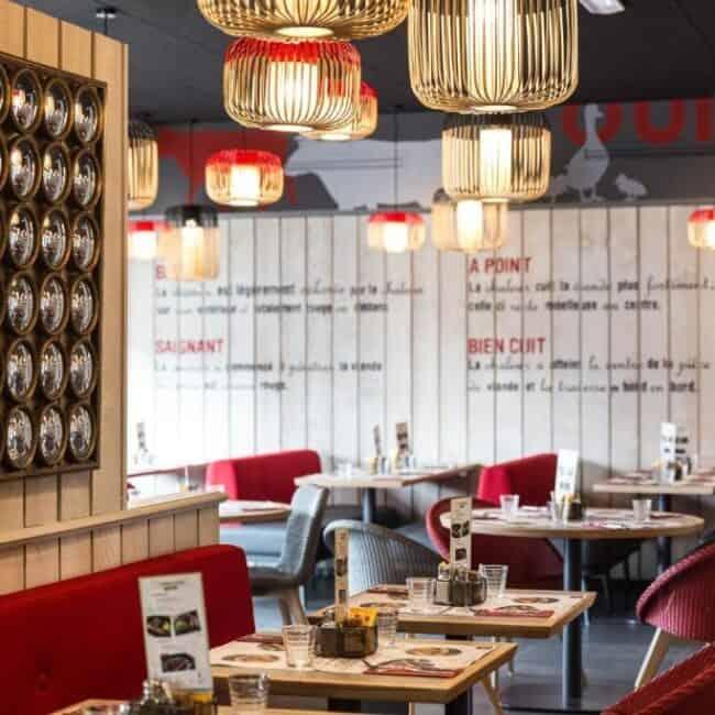 best hotels in Metz Campanile Hotel Metz Centre restaurant