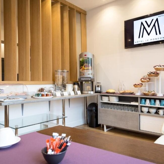 best hotels in Metz hotel le mondon breakfast
