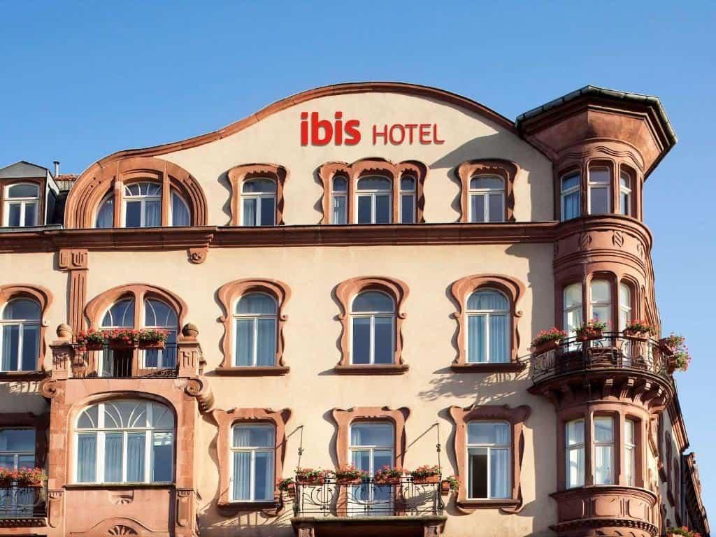 best hotels in Metz ibis centre gare