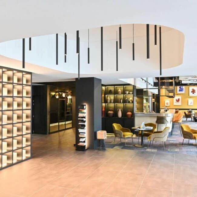 best hotels in Metz mercure centre lobby