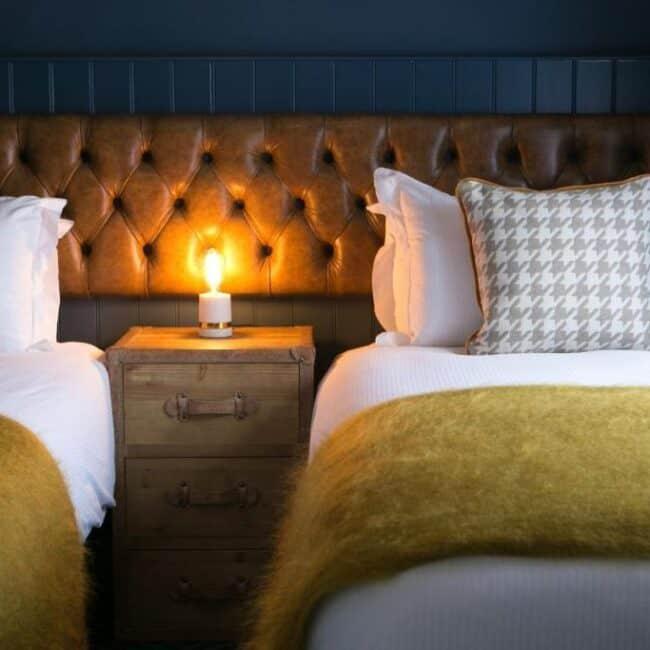 best hotels in Milford on Sea huntsman bedroom