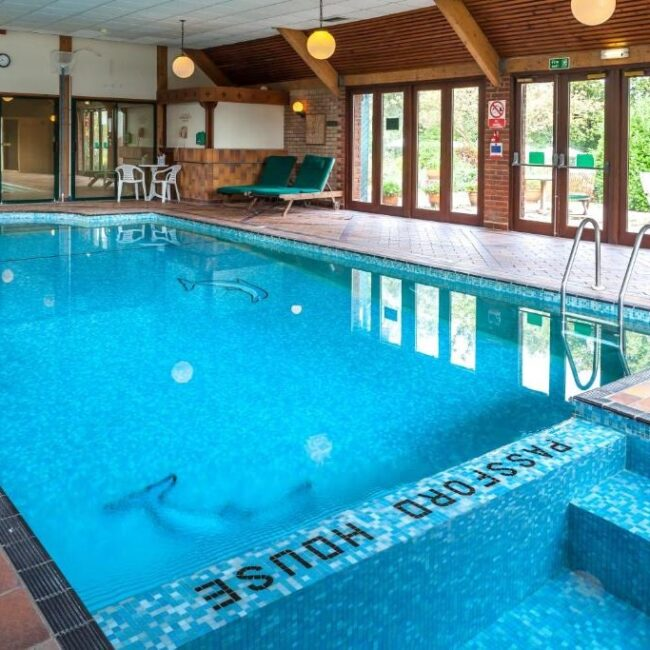 best hotels in Milford on Sea passford house hotel pool