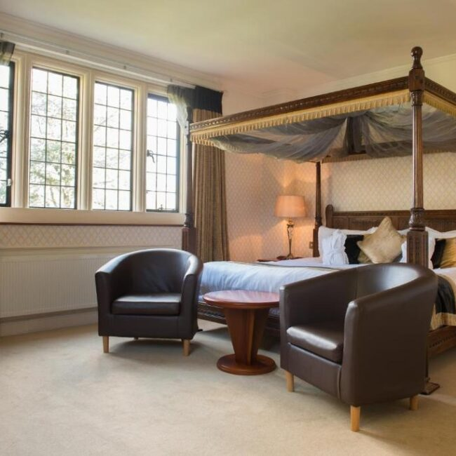 best hotels in Milford on Sea passford house hotel room