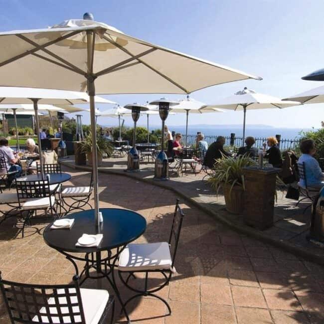 best hotels in Milford on Sea pebble beach