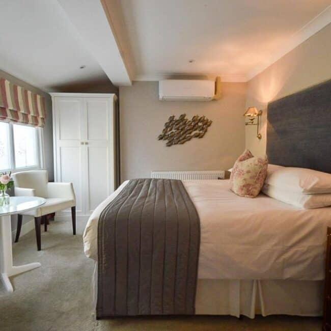 best hotels in Milford on Sea pebble beach bedroom