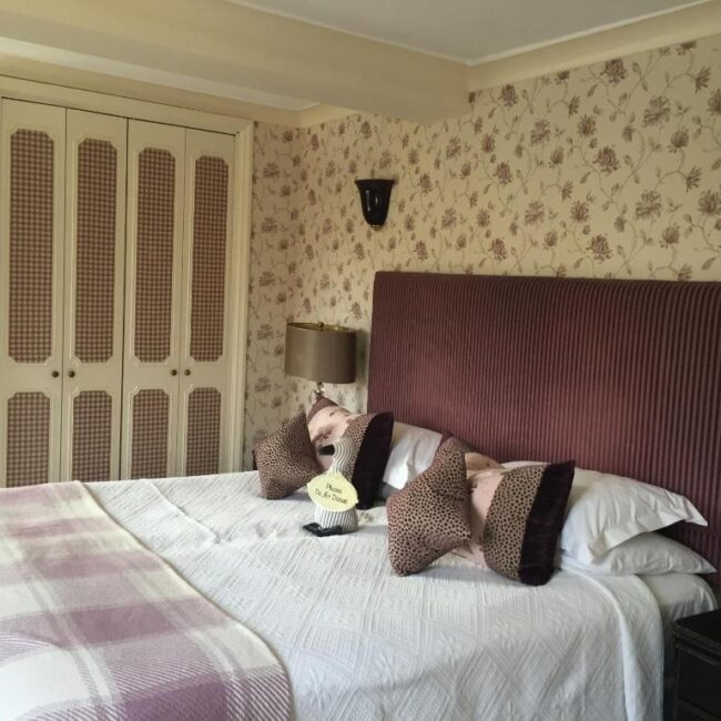 best hotels in Milford on Sea the old mill bedroom