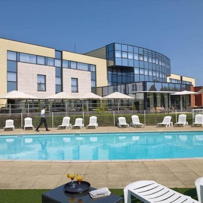 best hotels metz best western technopole pool