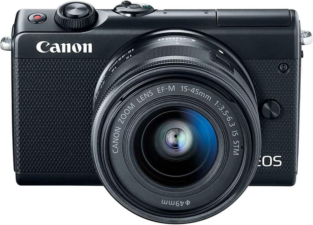 best travel camera Canon EOS m100