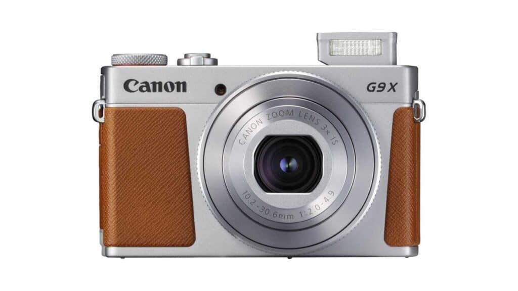 best travel camera Canon PowerShot G9 X Mark II
