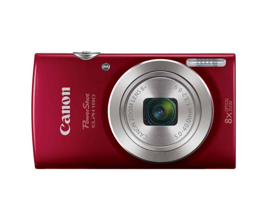 best travel camera powershot elph 180