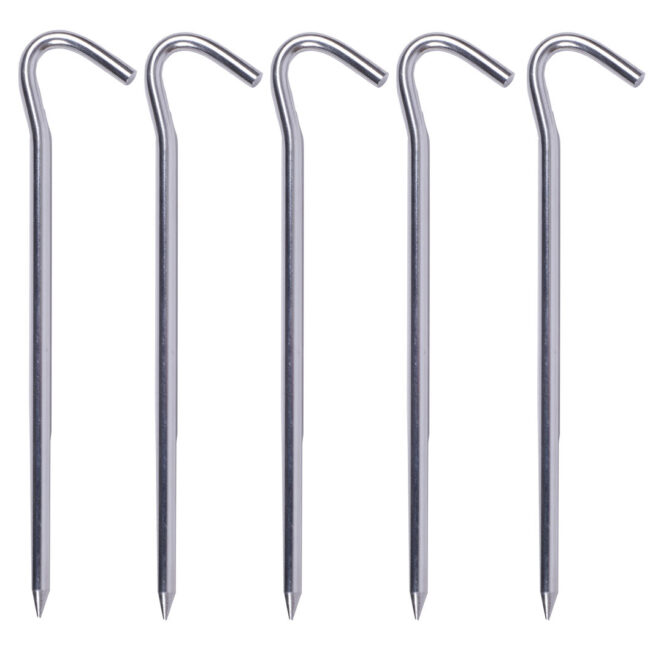 Best camping stuff tent pegs